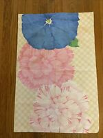 St Mary's Vintage Bold Floral Hippie Mid Mod Young at Heart Pillowcase Standard