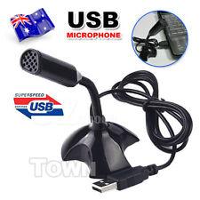 Microphone Mic USB Digital Desktop Plug Play For PC MAC Laptop Skype Chatting