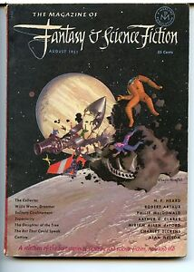 Fantasy and Science Fiction Vol 2 No 4. 1951 Approx grading : Fine