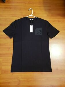 NWT Mens Black and Silver Versace Medusa Casual Collection Short sleeve T Shirt