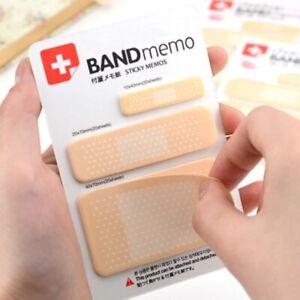 Kawaii Band Aid Type Notepad Self Adhesive Sticky Notes Nurse Memo Pads