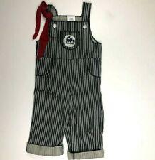 Striped Train Boys Railroad Overall Costume 3T 4T