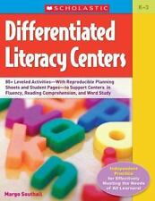 Differentiated Literacy Centers: 85 + Leveled Activities-With Reproducible