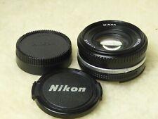 Nikon Nikkor 50mm F1.8 AI-S Prime Pancake Lens AIS  GREAT CONDITION A MODEL