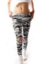 Damen-Leggings mit Camouflage S