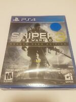 PLAYSTATION 4 PS4 VIDEO GAME SNIPER ELITE 3 GHOST WARRIOR SEASON PASS EDITION