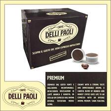 Caffè Delli Paoli box 100 capsule miscela premium compatibili Uno System