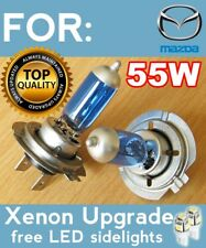 H4 55W Xenon White HID LED Headlight Bulbs Mazda Montrose MPV MX3 MX5 Premacy