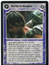 Star Wars CCG Special Edition Mind What You Have Learned / Save You It Can