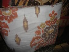 THE COMPANY STORE NOVELLA IKAT RUST TAUPE SOUTHWESTERN FULL/QUEEN DUVET 86 X 94
