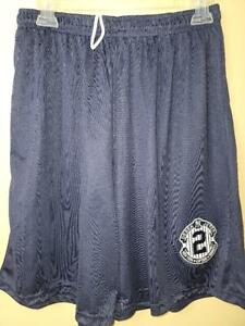 0724-4 Mens Yankees DEREK JETER Jersey Polyester Embroidered SHORTS NAVY New