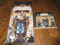 Michael Jackson Dangerous  longbox and Original cd! Rare!