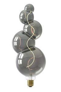 Calex XXL Alicante Titanium LED 240V 4W E27 2100K Dimmable