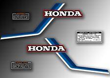 ATC 110 1983 Tank Stickers Honda Trike Decals