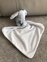 Jellycat Blue Bashful Bunny Rabbit Soother Blankie Comforter Soft blanket