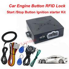 Presione el botón Inicio del motor de coche bloqueo De RFID entrada sin llave iniciar detener de arranque incandescente
