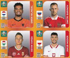 Panini Euro EM Tournament Edition Update Set Sticker Wijndal | Moder | Varga