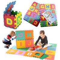 36pcs Alphabet Numbers EVA Floor Mat Baby Room Jigsaw ABC 123 Foam Puzzle
