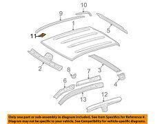 TOYOTA OEM Roof-Drip Molding Clip 7556102020