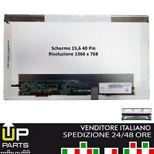 "Schermo 15.6"" LED  WXGA  glossy NT156WHM-N50 per  HP Lenovo ThinkPad SL510"