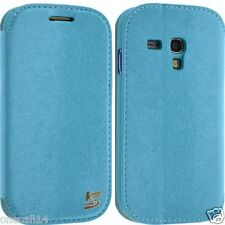 PER SAMSUNG GALAXY S3 MINI i8190 PORTAFOGLIO IN PELLE SMART CUSTODIA COVER FLIP