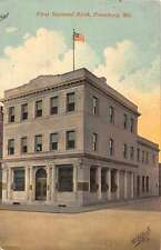 First National Bank Frostburg Maryland L2967 Antique Postcard