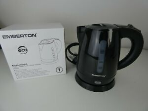 Travel Kettle Portable Electric 0.8l Hotel kettle in black Emberton -Guilgford e