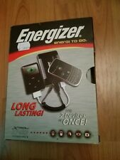 ENERGIZER ENERGI TO GO 2 GERÄTE LADEN POWER PACK 6 REISE ADAPTER 2*USB