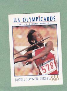 JACKIE JOYNER-KERSEE 1992 US OLYMPIC HOPEFULS IMPEL CARD #88