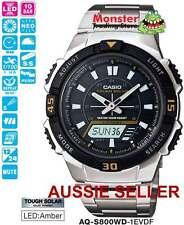 CASIO WATCH TOUGH SOLAR AQ-S800WD-1EV AQS800 AQS800WD 12-MONTH WARANTY