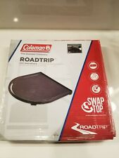 Cast Iron Half Grill Cooking Griddle Coleman RoadTrip Swaptop Non-Stick Flat