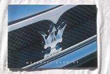 Maserati 3200 GT Sales Brochure