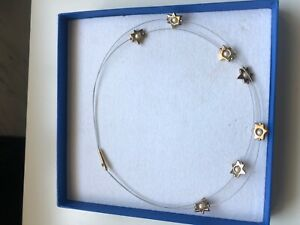 Pierre Lang Collier Sterne Perle Gold