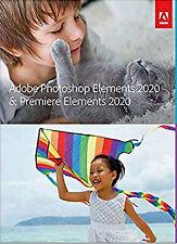 Adobe Photoshop Elements 2020 and Premiere Elements 2020 Mac Windows Retail Pkg