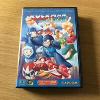 Rockman MegaWorld Mega Drive MD Genesis Capcom Used Japan Boxed Tested Working