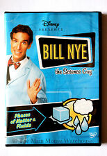 Bill Nye Science Guy Phases of Matter & Fluids Solid Liquid Gas Educational DVD