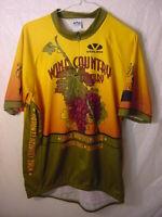 VOLER CYCLING JERSEY - WINE COUNTRY CENTURY SANTA ROSA CYCLING CLUB - MENS' 2XL