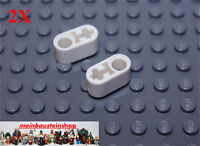 2X Lego® 74695 / 60483 Technic Liftarme Beams 1X2 Weiß White NEU