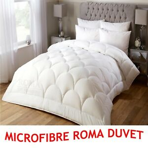 New Hotel Quality 100% Microfibre Quilt like Down Quilt, All Sizes & Tog Avail.