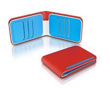 DOSH - STREET Pyro streamlined 6 card bi-fold wallet