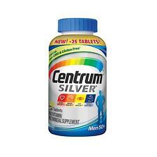 Centrum Silver MultiVitamin MultiMineral Complete Vitamin 275 Tabs Men Over 50+