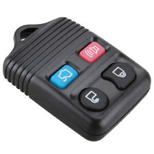 Black Keyless Entry Remote Key Fob Shell Case 4 Buttons Replacement for FORD car