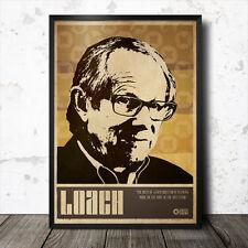 Ken Loach Art Poster Film Cinema Cult Movie Mike Leigh British
