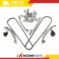Timing Chain Kit Oil Pump Fit 04-09 Infiniti Nissan Armada Pathfinder VK56DE
