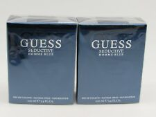 Guess Seductive Homme Blue Cologne Perfume EDT Spray 3.4 oz for Men (Pack of 2)