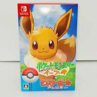 Let's Go Eevee Pokemon video game Poke Ball Plus Pack Nintendo Switch 2018 NEW
