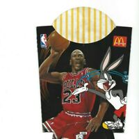 Michael Jordan McDonalds French Fry Box Nice Tweetys Scouting Report 1995
