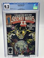Secret Wars II #3 CGC 9.2 White Pages Beyonder Appearance (1985)