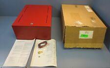 Edwards System Technology BC-1R Red Battery Cabinetwith Keys New