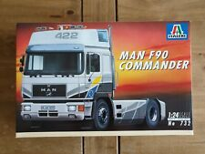 Italeri 732: MAN F90 Commander
